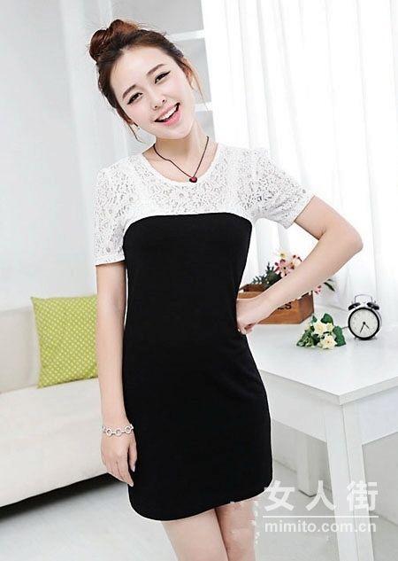 风靡韩国的16款气质连衣裙